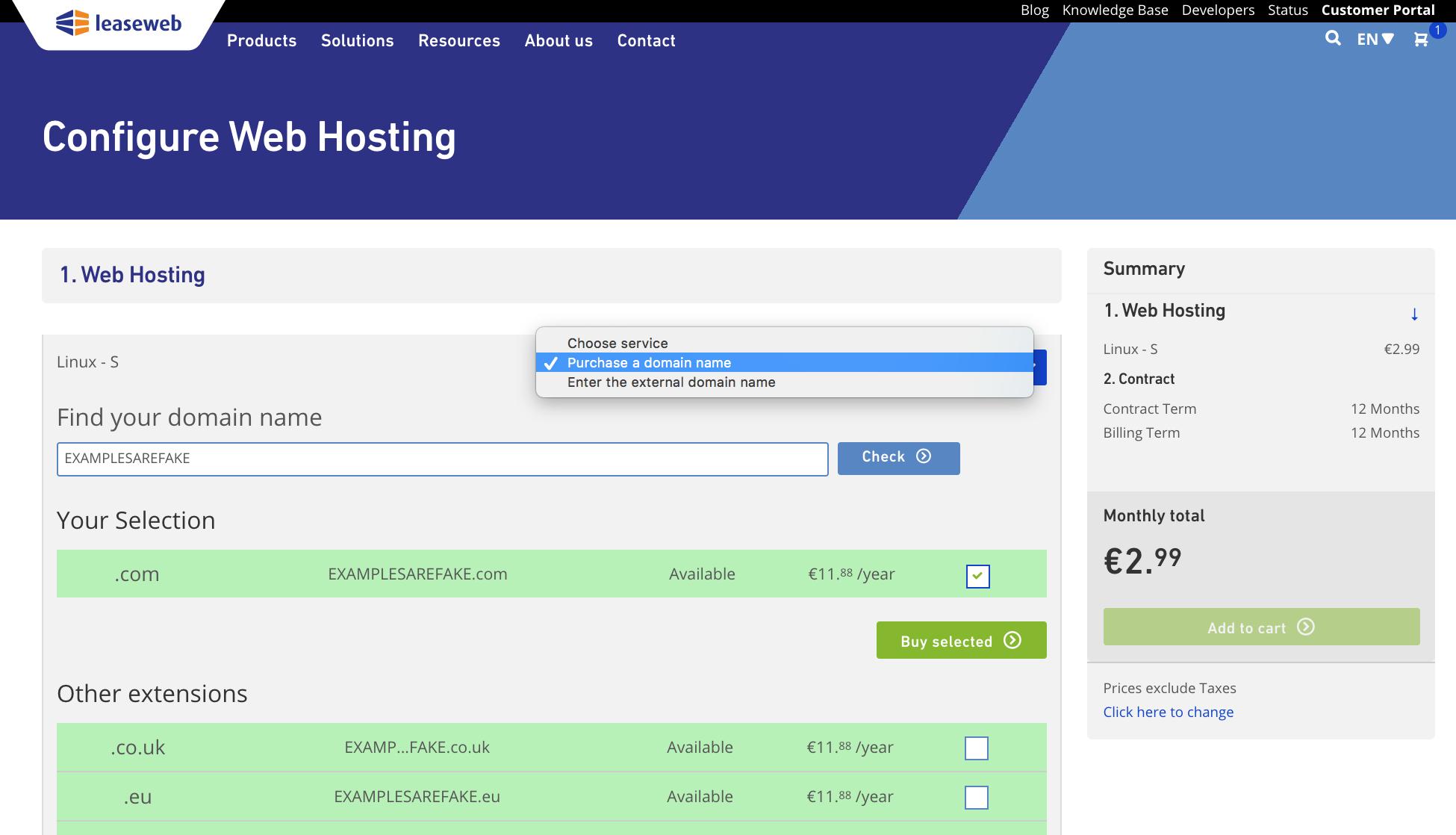 Web Hosting - Knowledge Base