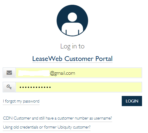 Logging into the portal: Acronis backup - Knowledge Base
