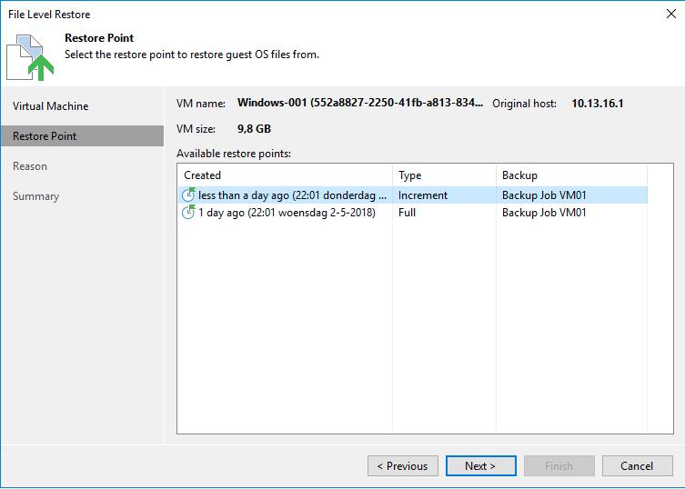 Files: Veeam vSphere - Knowledge Base