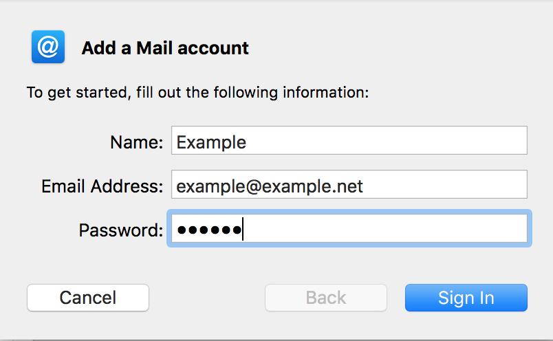 Aggiungere un nuovo SMTP